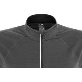 Icebreaker W's Comet Lite SS Half Zip Shirt monsoon/black